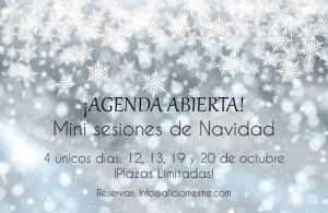 Sesiones de Navidad 2018