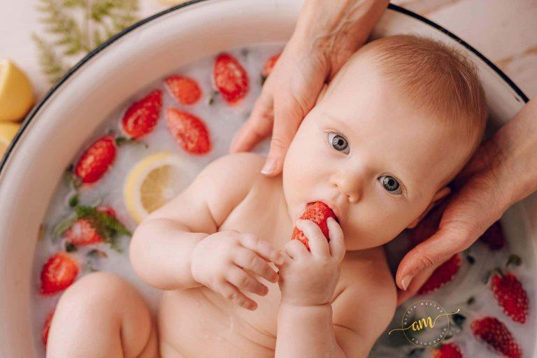 Sesiones Infantiles Milk Bath En Barcelona